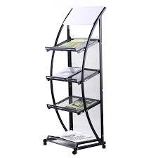 furniture mobile magazine rack single portable stand floor