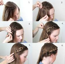 hair braiding styles step by step how to style a chain braid a beautiful mess