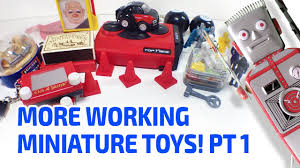 more working miniature toys part 1 youtube