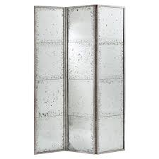 decor mesmerizing lost mirrored room divider design for vivacious