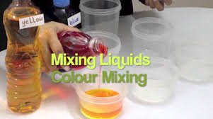 matter liquids grade 1 2 3 science experiments color mixing