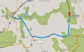 map las vegas and grand driving from las vegas to the grand trip tips las vegas