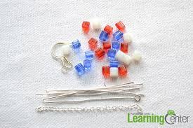 plastic bottle earrings easy on beaded american flag earrings
