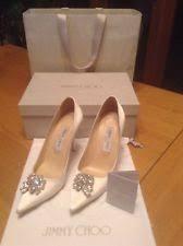 Wedding Shoes Jimmy Choo Jimmy Choo Bridal Shoes Ebay