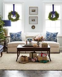classic coastal christmas decor with touches of chinoiserie and