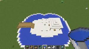 minecraft modern interior swimming pool design for new modern