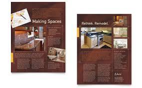instant home design remodeling home remodeling flyer ad template design