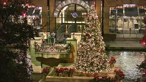 downtown san antonio christmas lights video of island in san antonio river at downtown mall christmas