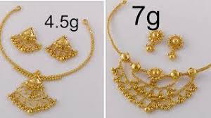 light weight gold necklace designs gold necklace designs with weight famous necklace 2018