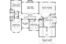european style house plan 5 beds 4 00 baths 3317 sq ft plan 54 174
