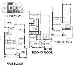 modern floor plan town house plans modern pretentious inspiration 15 plans and