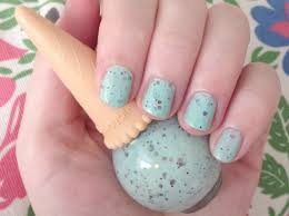 etude house mint choco chip nail polish review through the