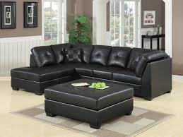 Black Sectional Sofa With Chaise Darie Leather Sectional Sofa With Left Side Chaise Las Vegas