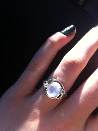 Moonstone Wedding Ring by Rainbow Moonstone Engagement Ring Pagan U0026 Wiccan Handfastings