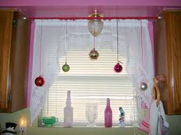 enchanting bay window decorations with three glass window and