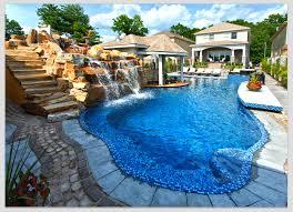custom pool slides summit usa commercial luxury custom pool