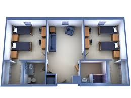 suite with 2 double rooms college pinterest double room suite with 2 double rooms
