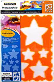 fiskars shape template stencil star stars christmas etc 4856 ebay