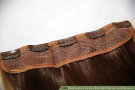 clip on hair how to care for your easi hair clip on hair extensions