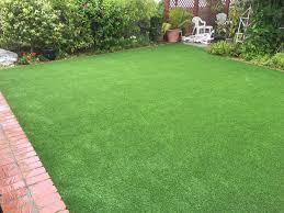 artificial turf backyard installation in torrance greenpro direct