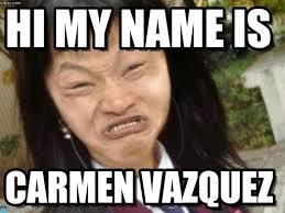 Hi My Name Is Meme - hi my name is ugly meme on memegen