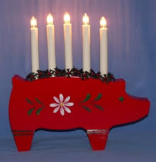 kron lume scandinavian lighting swedish pig candelabra 5 light copenhagen at christmas