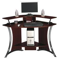 Small Wood Computer Desk With Drawers Small Wood Computer Desk With Drawers White Corner Black Painted