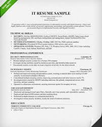 Example It Resumes by Unbelievable Sample It Resume 1 Information Technology It Cv