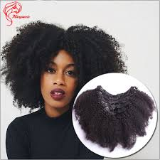 curly clip in hair extensions 100 grams afro curly clip in hair extension epacket freeshipping