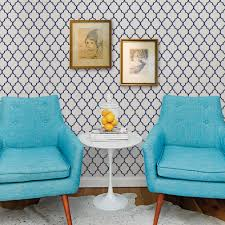 Moroccan Wall Decal by Moroccan Small Pattern Wallpaper Peel And Stick