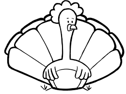 plain ideas turkey coloring pages thanksgiving cartoon page
