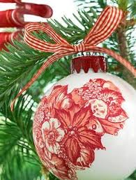 41 best ornaments decoupage baubles images on