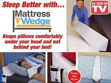 wedge bed pillows ebay