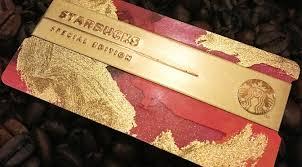 starbuck gold card starbucks cards 2016 diyosa