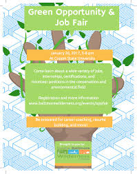 Job Fair Resume by Green Opportunity U0026 Job Fair U2014 Greater Baltimore Wilderness Coalition