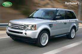 land rover 2007 2009 range rover sport 2 doors review top speed