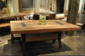industrial dining room table bina tyson industrial 72 dining table zin home