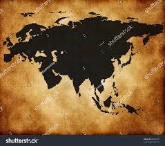Map Of Eurasia Map Eurasia On Old Texture Stock Illustration 95897599 Shutterstock