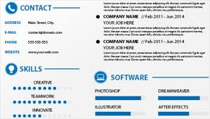 Editable Resume Templates 12 Easy Attractive And Free Infographic Resume Templates