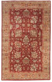 Rug 5x8 Beautiful Royal Hand Tufted Wool Area Rug 5x8 Red Beige Blue Yellow