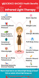 infrared light therapy for pain infrared therapy health benefits infograph infrared light therapy