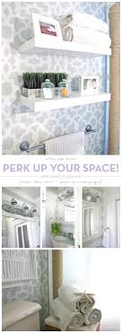 bathroom wall stencil ideas perk up your space with paint stencils stencil stories