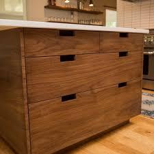 Walnut Cabinet Jason Straw Woodworker Modern Walnut Kitchen Cabinets