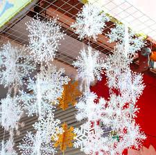 aliexpress buy 60pcs 20pack white snow snowflakes ornaments