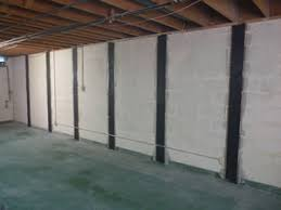 Bowing Basement Wall basement wall reinforcement carbonarmor and armorlock can