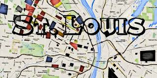 map st louis st louis gangs map and hoods map