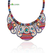 multi color necklace images 2017 new women bohemia necklace pendants multicolor statement jpg