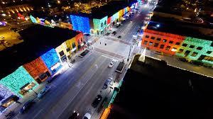 christmas light shows in michigan big bright light show christmas in down town rochester mi youtube