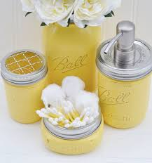 Grey Bathroom Accessories by Recreate With Some Of The 90 Mason Jars Left Over From The Wedding
