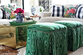 How To Make An Upholstered Ottoman by Dimples And Tangles Diy Upholstered Ottomans Almost No Sew